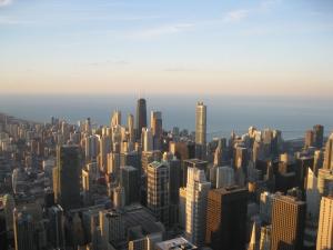 Chi Town from the Willis Tower ©MrsEnginerd