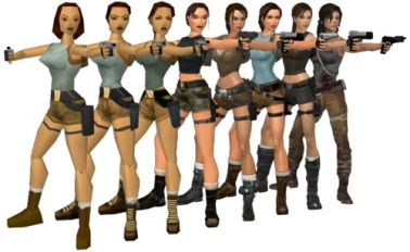 Credit: http://www.gamechup.com/evolution-of-lara-crofts-model-first-game-to-the-reboot/
